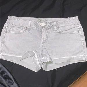 aeropostale grey shorts